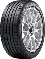 Goodyear Eagle® Sport All-Season SoundComfort Technology®