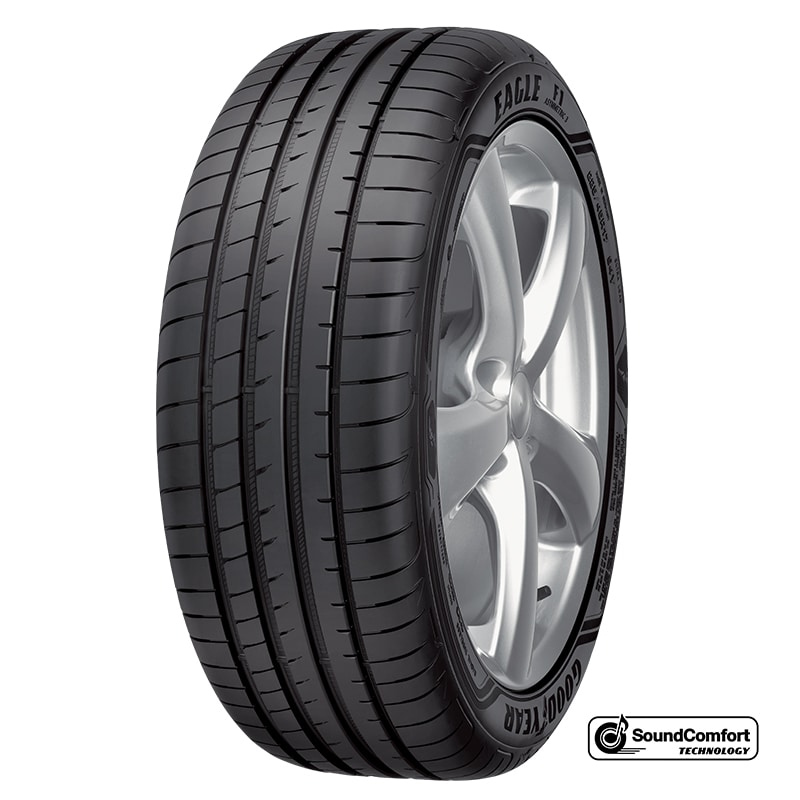Goodyear Eagle® F1 Asymmetric 3 SoundComfort Technology